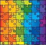 Het raadsel van de kleur Stock Fotografie