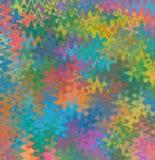 Het raadsel van de kleurenspat stock illustratie