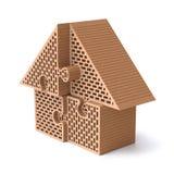 Het raadsel van het huis Royalty-vrije Stock Afbeelding