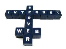 Het raadsel van Internet Royalty-vrije Stock Foto