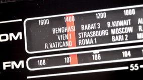 Het radio stemmen stock footage