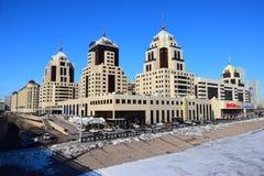 Het RADISSON-hotel in Astana Stock Foto's