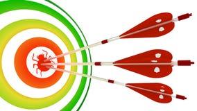Het raken van insectencybersecurity Stock Afbeelding