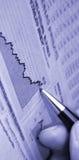 Het rapport van de crisis Stock Foto's