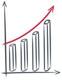 Het rapport van financiën Stock Illustratie