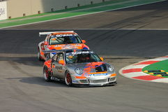Het Ras 2008 van Azië van de Kop van Porsche Carrera Stock Afbeeldingen
