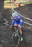 Het Ras van Cyclocross Stock Afbeelding