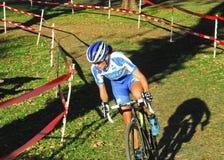 Het Ras van Cyclocross Stock Fotografie