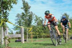 Het Ras van Cyclocross Royalty-vrije Stock Foto