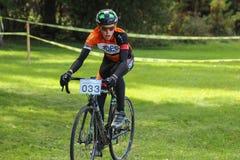 Het Ras van Cyclocross Royalty-vrije Stock Foto's