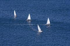 Het ras van de boot Royalty-vrije Stock Fotografie
