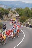 Het Ras van de Cyclus Milaan-Sanremo royalty-vrije stock afbeeldingen