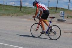 Het ras van de fiets Stock Fotografie