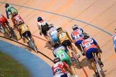 Het Ras van de fiets Stock Foto's