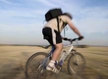 Het ras van de fiets Stock Afbeeldingen