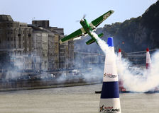 Het Ras van de Lucht van Red Bull stock foto's