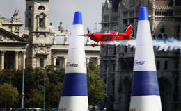Het Ras van de Lucht van Red Bull Royalty-vrije Stock Afbeeldingen