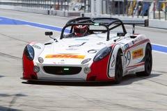 Het ras van de merdekaduurzaamheid van Aylezo motorsports Royalty-vrije Stock Foto's