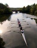 Het ras van de rivier Royalty-vrije Stock Afbeelding