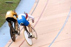 Het Ras van de Sprint van de fiets Royalty-vrije Stock Foto