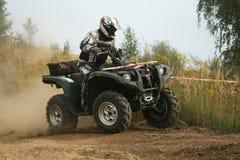 Het Ras van de Vierling ATV Royalty-vrije Stock Foto