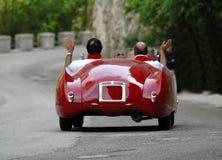 Het ras van Miglia van Mille (*) Stock Fotografie