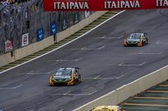 Het Ras van Porsche van de formule Royalty-vrije Stock Afbeelding