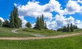 Het Ravijnpark van de molenkreek Royalty-vrije Stock Foto's