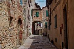 Het reces van Toscanië in cetona royalty-vrije stock fotografie