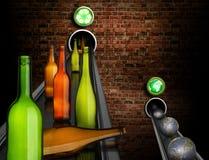 Het recycling bewaart planeten royalty-vrije illustratie