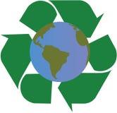 Het recycling van de wereld Royalty-vrije Stock Afbeelding