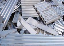 Het recycling van het aluminium royalty-vrije stock afbeelding