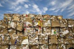 Het Recycling van het document Stock Foto's