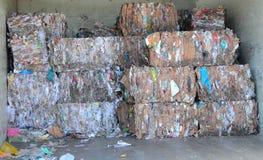 Het recycling van het document Royalty-vrije Stock Afbeeldingen