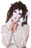 Het redactie Meisje van het Concept als Doll Royalty-vrije Stock Afbeeldingen
