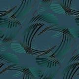 Het regelmatige gevoelige patroon donkergroene zwarte grijze bedekken Stock Foto's
