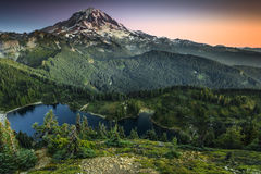 Het Regenachtigere Nationale Park van MT Royalty-vrije Stock Afbeeldingen
