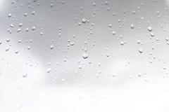 Het regenen en dauw Royalty-vrije Stock Foto's