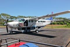 Het Regionale Vliegtuig van TACA royalty-vrije stock foto's