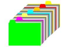 Het register van de kaart Stock Illustratie