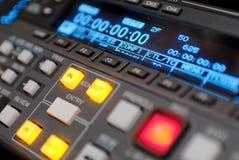 Het registreertoestel van de uitzending vcr, bèta digitaal Stock Foto's