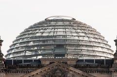 Het Reichstag-gebouw in Berlijn Stock Foto's