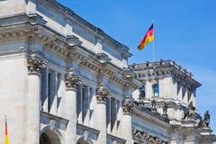 Het Reichstag-gebouw. Berlijn, Duitsland Stock Fotografie