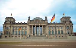 Het Reichstag Gebouw, Berlijn, Duitsland Royalty-vrije Stock Afbeelding