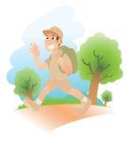 Het reizen royalty-vrije illustratie