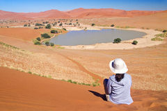 Het reizen in Afrika Royalty-vrije Stock Foto