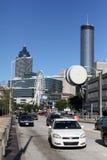 Het reizen in Atlanta stock afbeelding