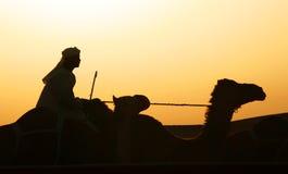 Het reizen bij Schemer Royalty-vrije Stock Foto's