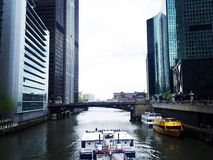 Het reizen in Chicago Royalty-vrije Stock Afbeeldingen