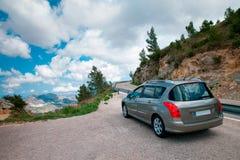Het reizen door Auto Stock Foto's